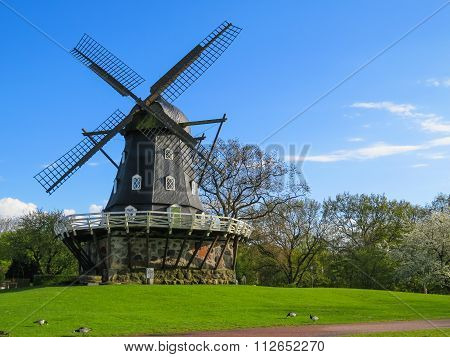 Old Windmill in Malmo, Sweden