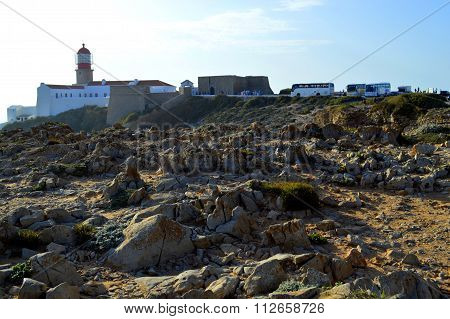 Cape St Vincent Lighthouse in Portugal