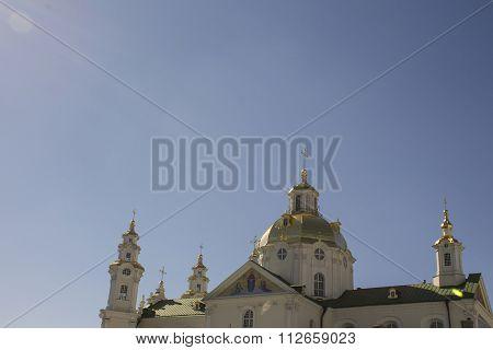 Church And Gazebo For Saints