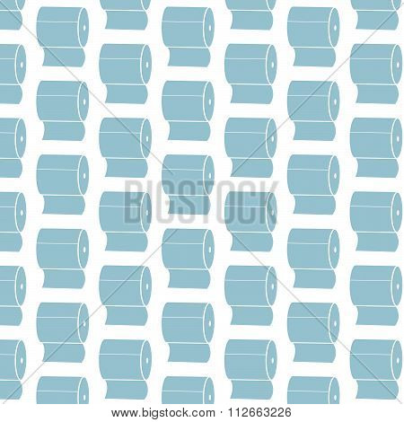 Toilet Paper Pattern Background