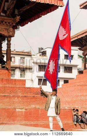 Durbar Square In Kathmandu