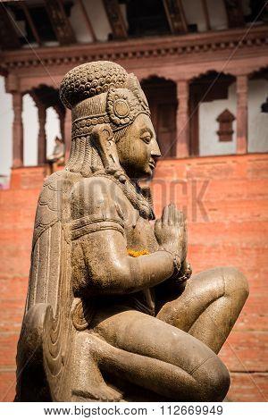 Hindu God Garuda