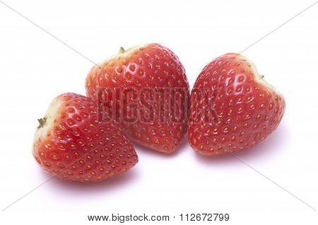 Strawberry without stalk