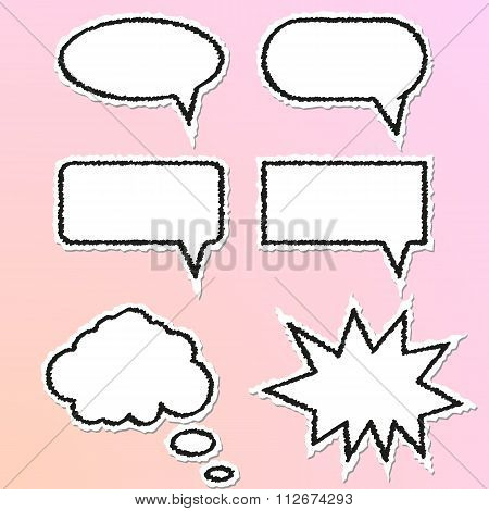 Vector illustration of Speech Balloon
