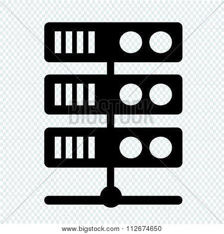 Computer Server Icon