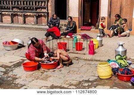 Bhaktapur Street Life