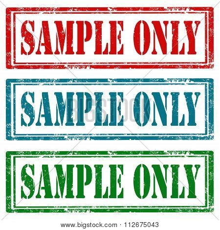 Sample Only-stamps