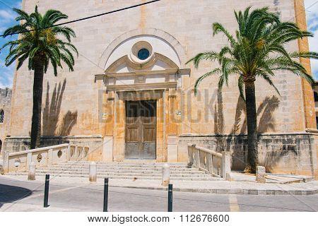 Sant Andreu Church In Santanyi, Mallorca