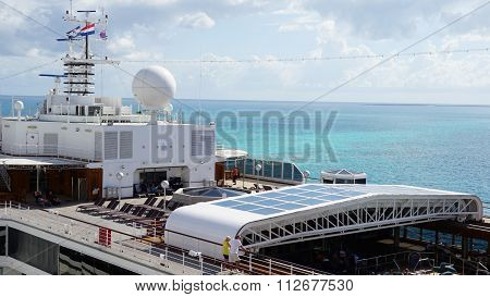 Holland America Westerdam cruise ship in Grand Turk