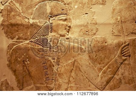 Egyptian Wall Carving Fr