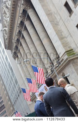 Wall street business, New York, USA.