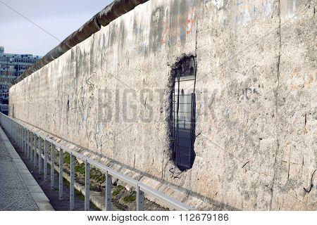 Berlin Wall Perspective