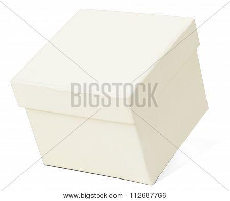 Closed white box