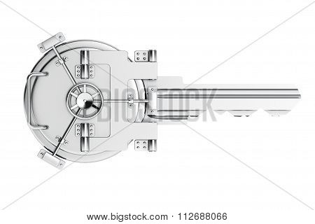 Key As Vault Bank Door