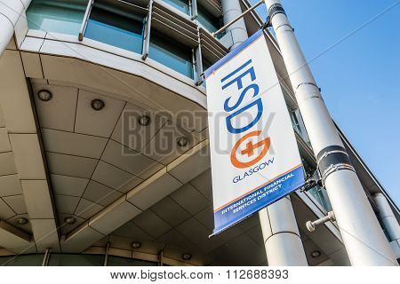 Sign for IFSD in Glasgow.