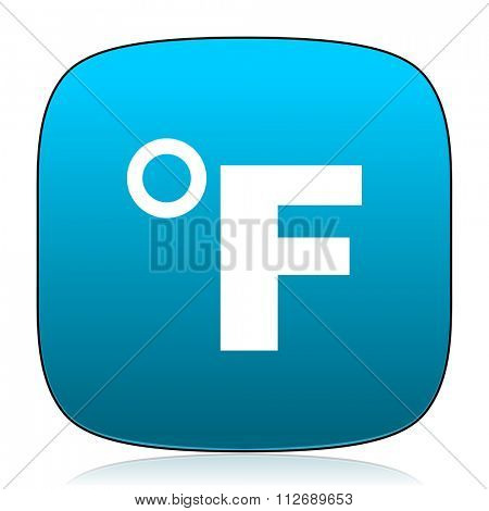 fahrenheit blue icon