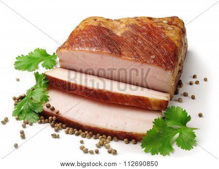 Smoked Lard Slices