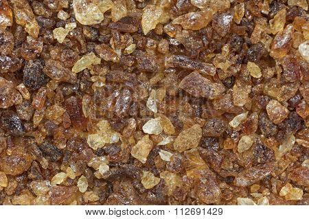 Closeup Of Brown Sugar