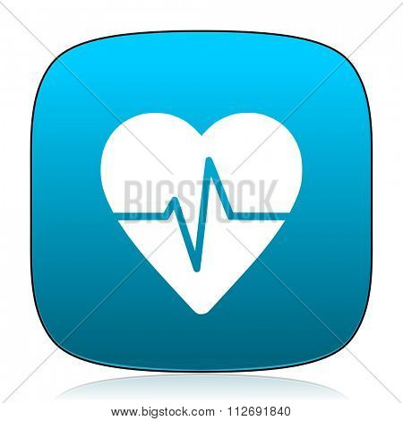 pulse blue icon
