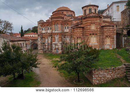 Image Of  Monastery Of St. Luke Near Delphi