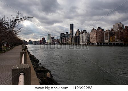 View from Roosevelt Island
