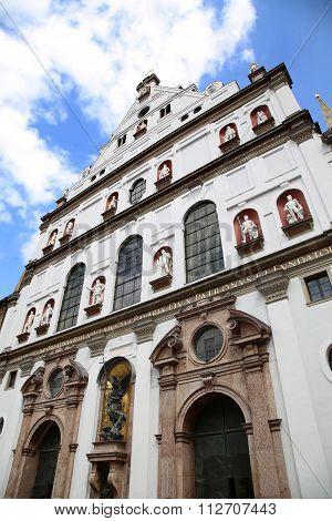 St. Michael's Church, Neuhauser Strasse In Munich, Germany