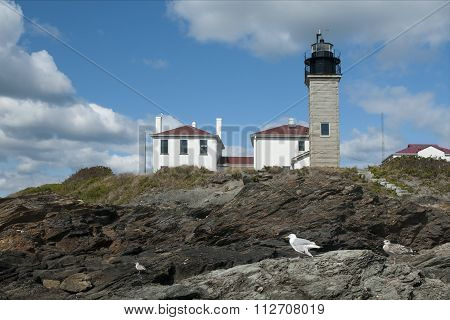 Beavertail Lighthouse is the Third Oldest Beacon in America