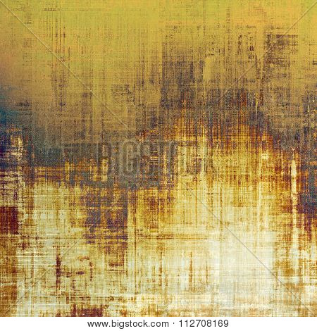 Abstract rough grunge background, colorful texture. With different color patterns: yellow (beige); brown; gray; white