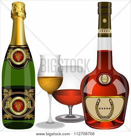 Champagne And Cognac
