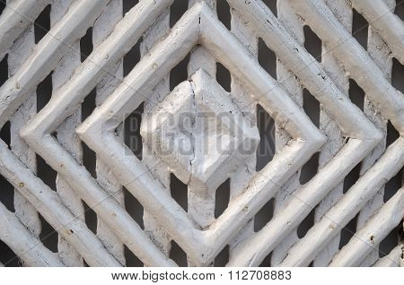 Antique south European wooden door pattern