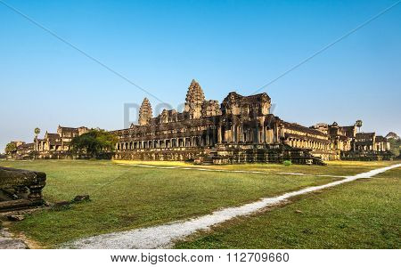 Angkor Wat, Buddhist temple complex in Cambodia