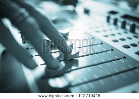 Wedding Dj Deejay In Nightclub Party