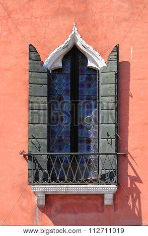 Renaissance Window in Venice