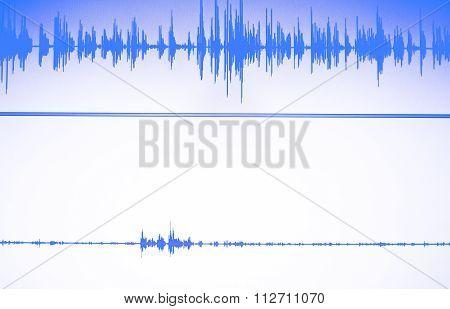 Audio Studio Voice Recording Sound Wave