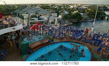 Carnival Breeze in La Romana, Dominican Republic
