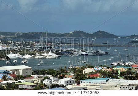 Boat Marinas In Saint Maarten