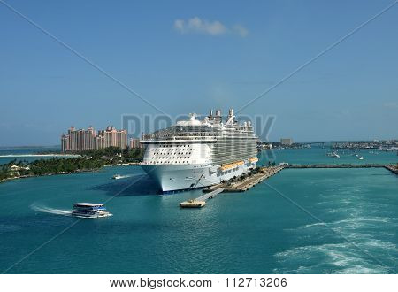 Allure Of The Seas In Nassau