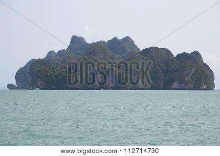 Islands Of Of Andaman Sea, Phang Nga Bay,  Thailand