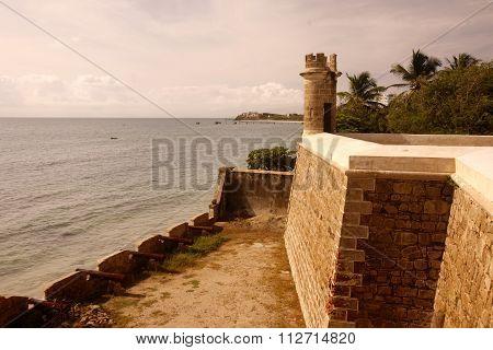 South America Venezuela Isla Margatita Pampatar Castillo