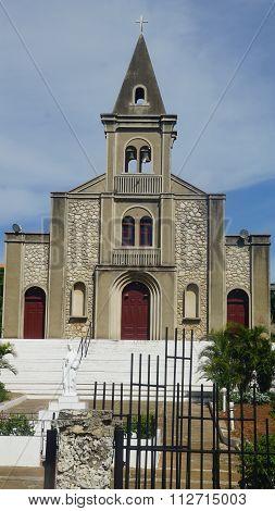 Santa Rosa de Lima Cathedral in La Romana