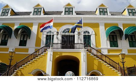 Governors Palace in Willemstad, Curacao