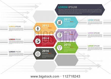 Milestone Timeline Infographic presentation