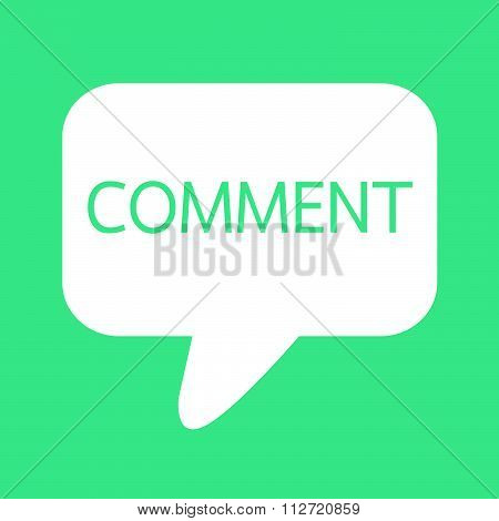 Comments Icon Sign Illustration