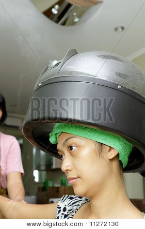 Hair Spa Treatment With Steamer