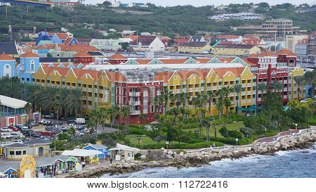 Rif Fort in Willemstad, Curacao