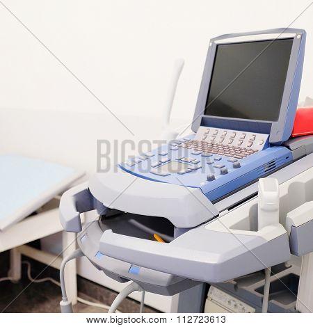 Medical ultrasound diagnostic machine