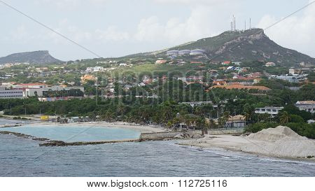 View of Willemstad, Curacao