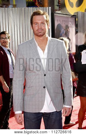 HOLLYWOOD, CALIFORNIA - October 2, 2011. Eric Matheny at the Los Angeles premiere of