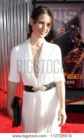 Evangeline Lilly at the Los Angeles Premiere of