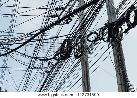 Electrical Cables With Telephone Lines